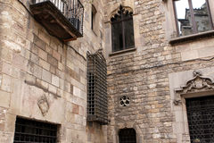 Gothic Quarter, Barcelona Royalty Free Stock Images