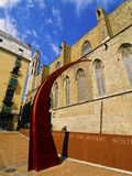The Gothic Quarter in Barcelona Stock Photo