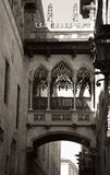Gothic quarter in Barcelona Royalty Free Stock Photos