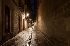 Gothic Quarter of Barcelona Stock Photos