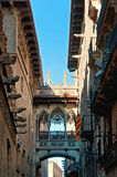 Gothic Quarter of Barcelona Stock Photo