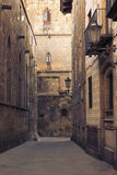 Gothic Quarter, Barcelona v Royalty Free Stock Image