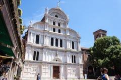 Chiesa di San Zaccaria stock photography