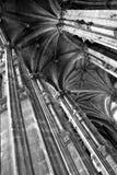 Gothic rib vault Royalty Free Stock Photo