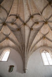 Gothic ribbed vaulting Stock Images