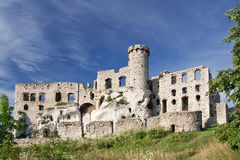 Gothic rocky castle. royalty free stock image