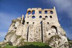 Gothic rocky castle. Stock Photos