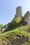 Gothic rocky castles in Poland. Royalty Free Stock Photography