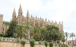 Cathedral of Santa Maria of Palma Royalty Free Stock Photo