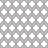 Gothic rosette seamless pattern. stock illustration