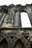 Gothic Ruin - Holyrood Abbey - Detail Stock Photo