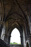 Gothic Ruin - Holyrood Abbey Stock Images