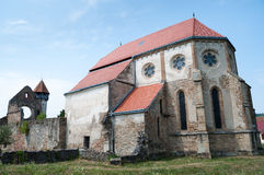 Gothic Ruins. In Carta (Kerz), Romania Royalty Free Stock Images