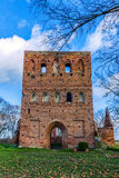 Gothic ruins of the Church Stock Images
