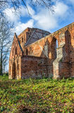 Gothic ruins of the Church Royalty Free Stock Photography