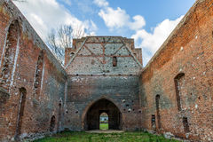 Gothic ruins of the Church Royalty Free Stock Photo