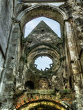 Gothic ruins Royalty Free Stock Image