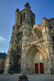 Gothic Saint-Pierre-et-Saint-Paul Cathedral Royalty Free Stock Image