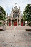 Gothic Saint-Urbain Basilica in Troyes Royalty Free Stock Images