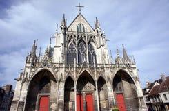 Gothic Saint-Urbain Basilica Stock Photos