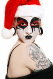 Gothic Santa helper Stock Photos