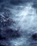 Gothic scenery 04. Gothic background for personal or commercial use Stock Photo
