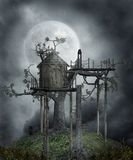 Gothic scenery 103 Royalty Free Stock Image