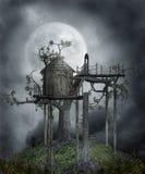 Gothic scenery 103 stock illustration