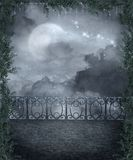 Gothic scenery 107. Gothic background for personal or commercial use royalty free illustration