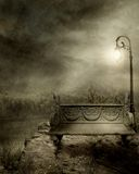 Gothic scenery 14. Gothic background for personal or commercial use Stock Photography