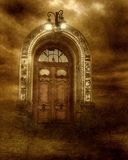 Gothic scenery 20 royalty free illustration