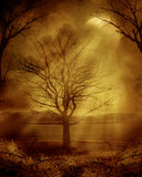 Gothic scenery 26. Gothic background for personal or commercial use Stock Image