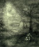 Gothic scenery 28. Gothic background for personal or commercial use royalty free illustration