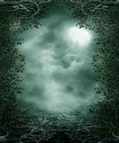 Gothic scenery 30. Gothic background for personal or commercial use royalty free illustration