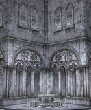Gothic scenery 52 Stock Photography