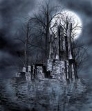Gothic scenery 57. Gothic background for personal or commercial use Royalty Free Stock Image