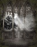 Gothic scenery 66. Gothic background for personal or commercial use Royalty Free Stock Image