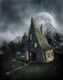 Gothic scenery 69. Gothic background for personal or commercial use Stock Illustration