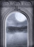 Gothic scenery 70. Gothic background for personal or commercial use Stock Photos