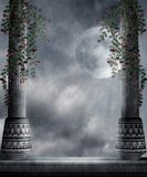 Gothic scenery 77 vector illustration