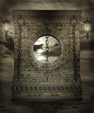 Gothic scenery 93. Gothic background for personal or commercial use stock illustration