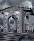 Gothic scenery Stock Photos