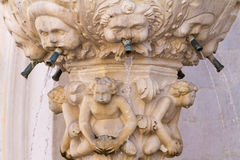 Gothic sculpture in Dubrovnik Royalty Free Stock Image