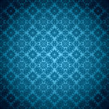 Gothic seamless green wallpaper Royalty Free Stock Image