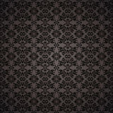 Gothic seamless wallpaper Stock Image