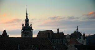 Gothic skyline 2 Stock Image