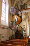 Gothic Spiral Staircase Royalty Free Stock Photography