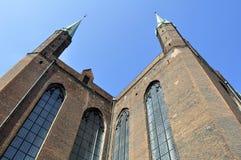 Gothic basilica, Poland. Stock Photos