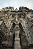 Gothic St. Peter's Cathedral(Regensburg) Stock Photography