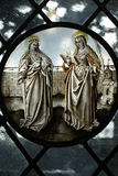 Gothic stained glass Stock Photography